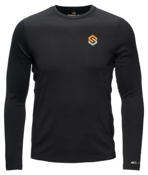 ClimaFleece BaseSlayers Midweight Shirt-Black-Small