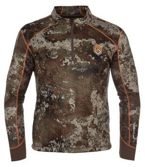 Savanna Aero Attack 1/4 Zip Shirt-Strata-Small