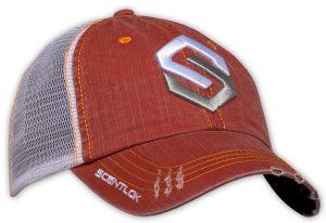 Distressed Logo Hat Orange OSFA