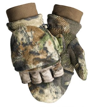 Fleece Pop-Top Glove-Mossy Oak Terra Gila-Medium