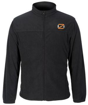 OZ Fleece Logo Jacket-Black-Medium