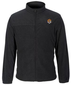ScentLok Fleece Logo Jacket-Black-Medium