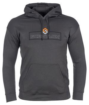 ScentLok Logo Hoodie-Medium-Grey