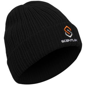 Carbon Alloy Knit Cuff Beanie-Black