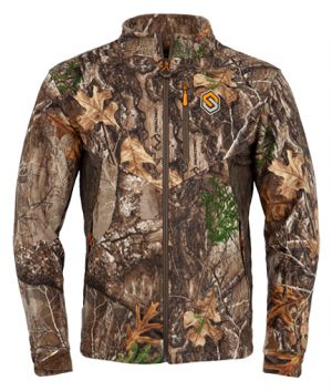 Wind Brace Windproof Fleece Jacket-Realtree Edge-Small