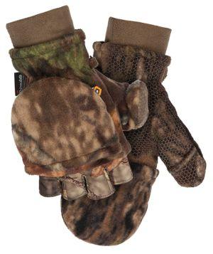 Fleece Pop-Top Glove-Mossy Oak Break-Up Country (082)-Medium