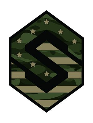 Military Flag Decal
