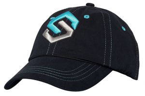 Ladies Logo Hat Black OSFA