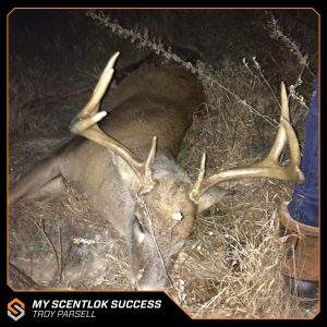 My Scentlok success: Troy Parsell