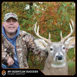 My Scentlok success: Charly Bartley