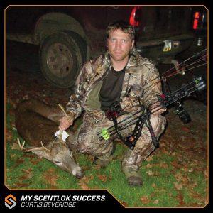 My Scentlok success: Curtis Beveridge