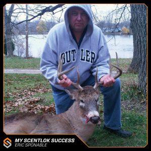 My Scentlok success: Eric Sponable