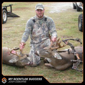 My Scentlok success: Josh Osborne