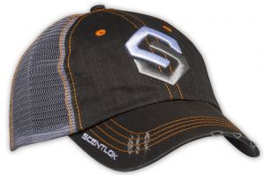 Distressed Logo Hat Black OSFA