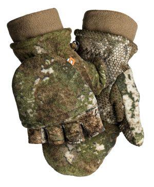 Fleece Pop-Top Glove-Strata-Medium
