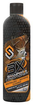 3X Shampoo & Conditioner -12 oz