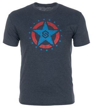 ScentLok Let Freedom Ring Tee-Navy-Small