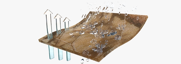 NeverWet Technology is a superhydrophobic treatment that dramatically repels water, mud and any other liquid